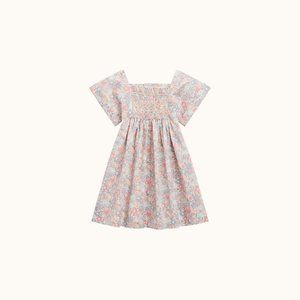 BONPOINT LIBERTY DRESS TEA ROSE 3T SS20 NWT